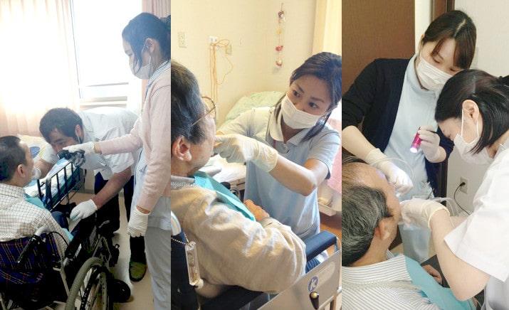 訪問歯科の風景